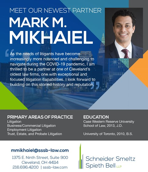 Mark M. Mikhaiel partner announcement